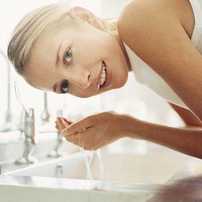 como limpar la cara