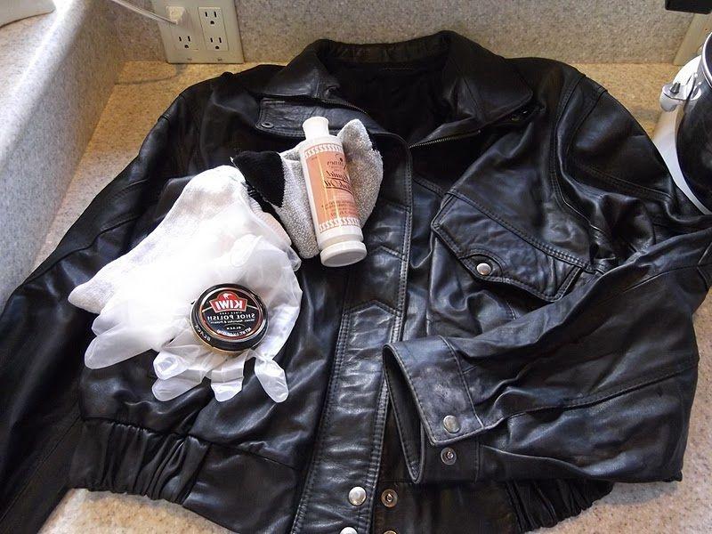 Como se lava una chaqueta de cuero sintetico