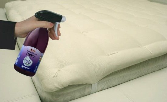 Como limpiar un colchon for Limpiar colchon amoniaco