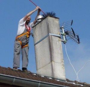 Limpiar la chimenea
