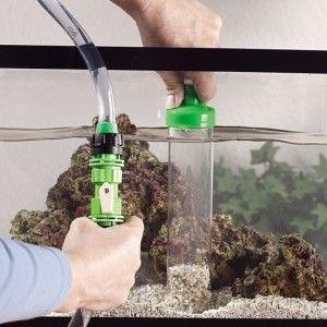 Limpiar la grava del acuario