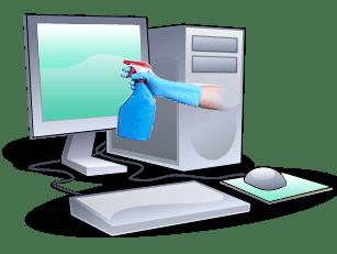 limpiar monitor