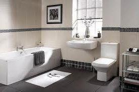 baño limpio