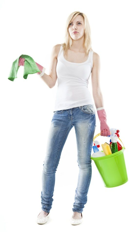 C mo limpiar el ba o for Lista utensilios para bano