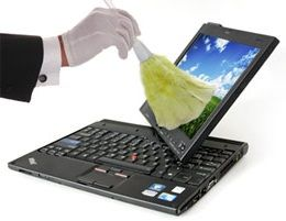 Limpiar el laptop