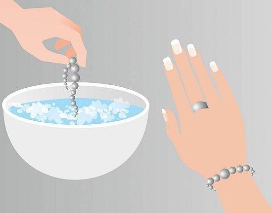 Como limpiar las joyas de plata for Como limpiar un rosario de plata