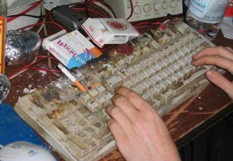 C mo limpiar un teclado sin abrirlo - Como limpiar bano ...