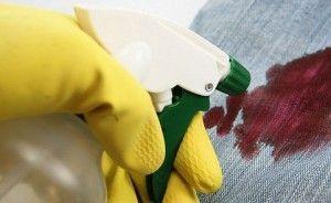 limpiacristales en sangre